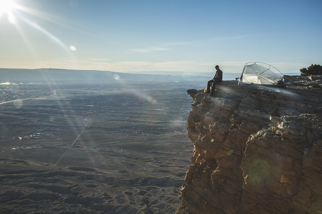 Devon Balet photography - atop the Colorado National Monument