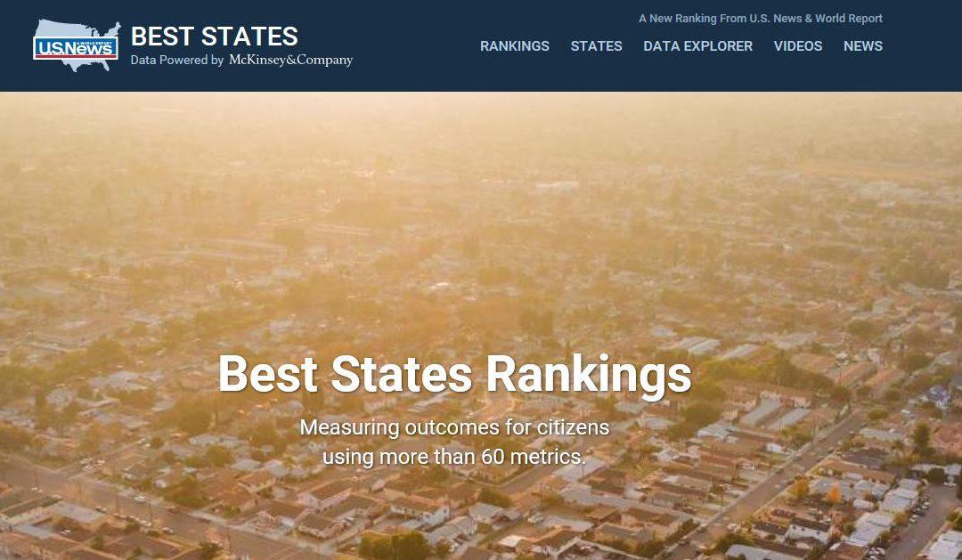 U.S.News Ranks Colorado #1 Economy in America