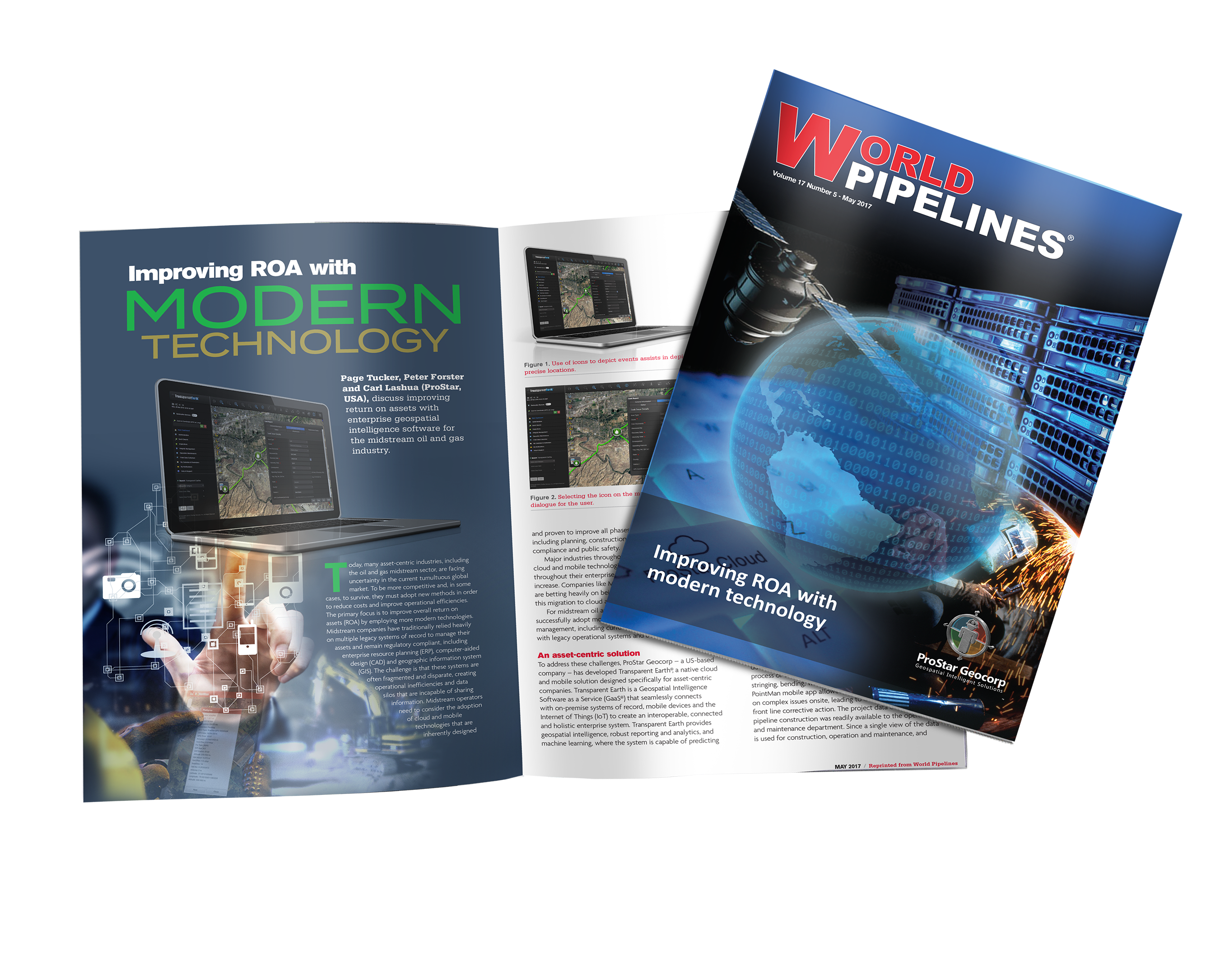 ProStar Geocorp, based in Grand Junction, CO, featured in World Pipelines mag