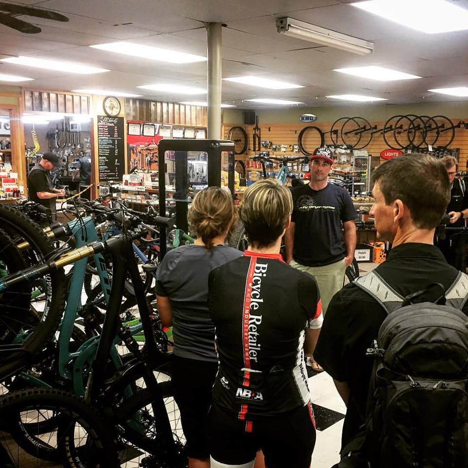 Bicycle Retailer & Industry News visits Grand Junction, CO, on a dealer tour