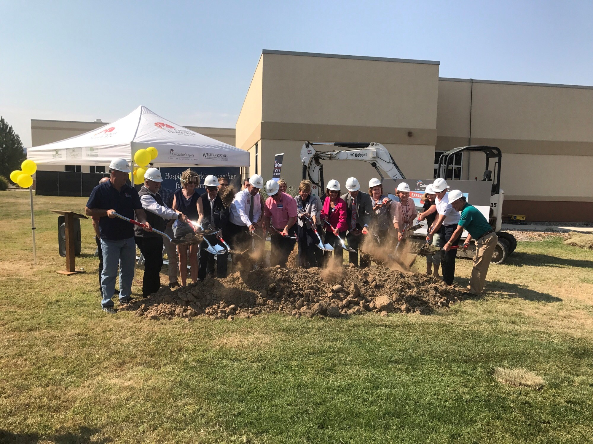 Family Health West and St. Mary's breaks ground on hospital expansion in Fruita, Colorado
