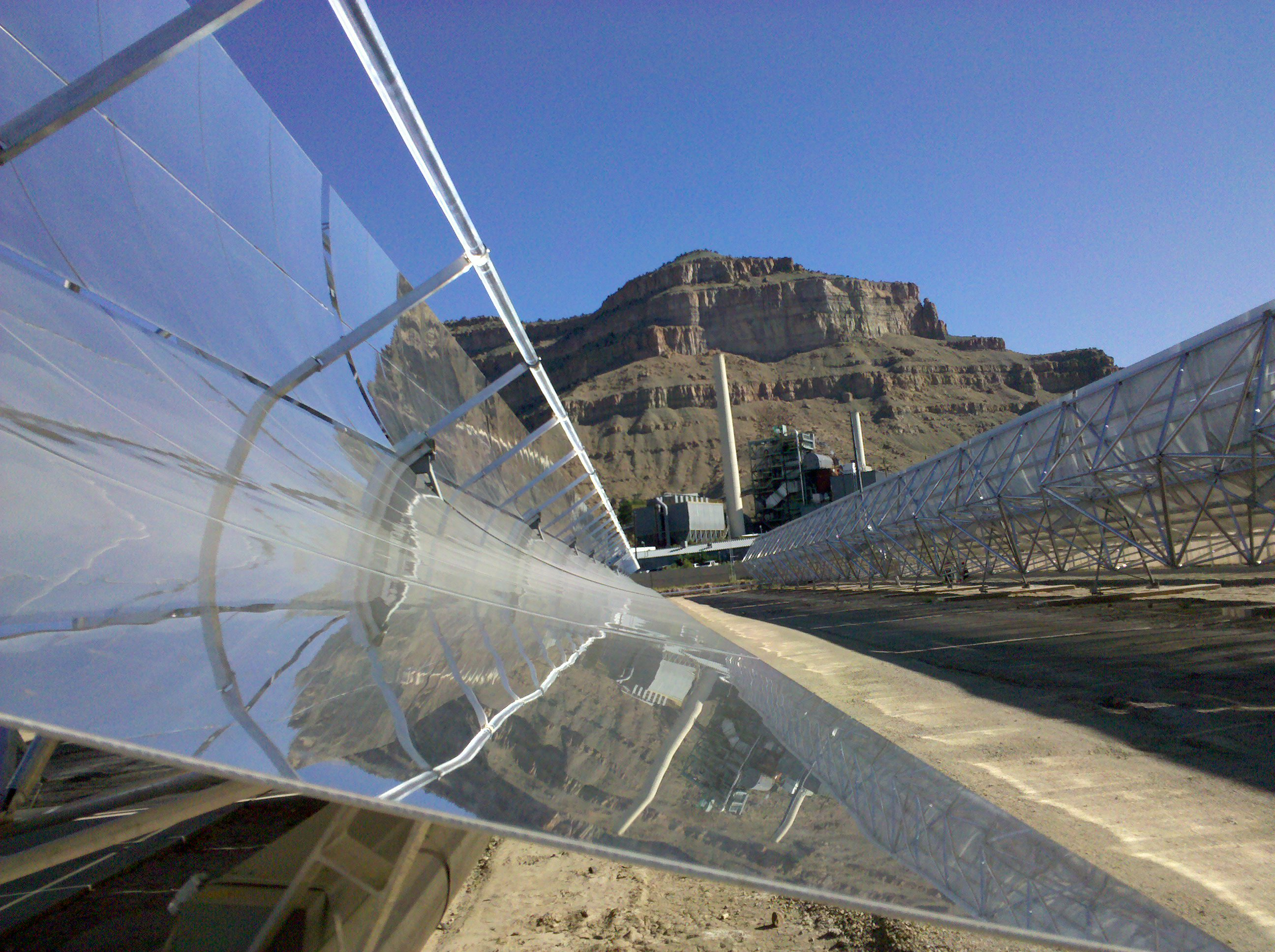 Grand Junction, Colo., home to the world's first hybrid solar-coal plant.