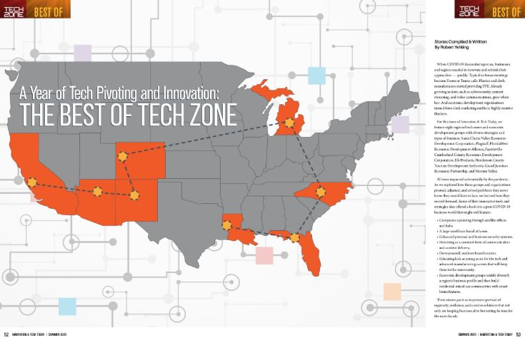 "Grand Junction Featured in ""Best of Tech Zone"""