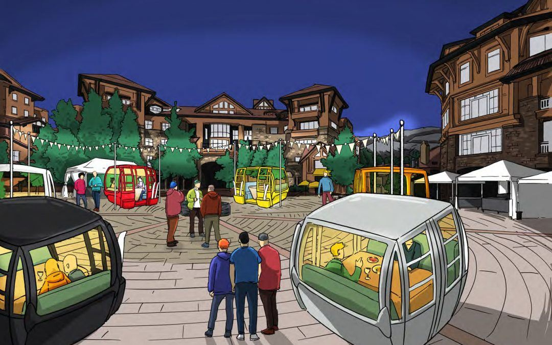 The Gondola Shop in Fruita Refurbishes Gondolas as Dining Cabins for Telluride Ski Season