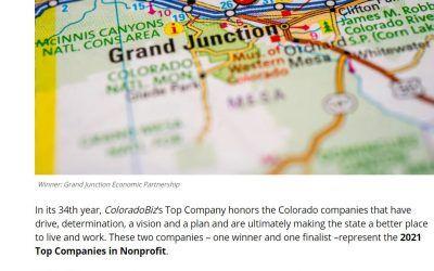 GJEP Wins ColoradoBiz Top Company 2021